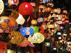 Turkish lanterns on display in the Grand Bazaar in Istanbul, Turkey By: StewieD Turkish Lanterns, Turkish Lights, Turkish Lamps, Grand Bazaar Istanbul, Turkey Photos, Pretty Lights, Beautiful Lights, Candle Lanterns, Candles