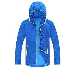 Windbreaker Jacket, Hooded Jacket, Too Thin, Rain Jacket, Gift Ideas, Amazon, Sports, How To Wear, Jackets