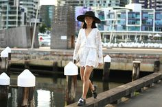 Melbourne Fashion, Street Fashion, White Dress, Tumblr, Instagram, Dresses, Urban Apparel, Gowns, White Dress Outfit