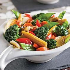 Méli-mélo de légumes aigres-doux - Recettes - Cuisine et nutrition - Pratico Pratique