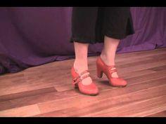 Practicing Flamenco Foot Work (Flamenco Dance Lessons) - YouTube