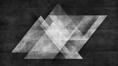 Triangles Background Light