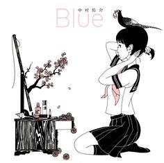 Yusuke Nakamura Illustration Art Works Blue Japon Book New Hyogo, Film 2017, Junji Ito, Kung Fu, City hunter, Japan Expo, Pochette Album, Film D'animation, Pop Art