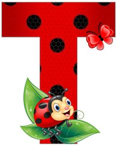 Lady Bug, Fun Crafts, Diy And Crafts, Ladybug Art, School Frame, Clip Art Pictures, Painting For Kids, Letters And Numbers, Miraculous Ladybug