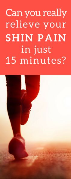 Can you really relieve your shin pain in just 15 minutes  #shinsplint