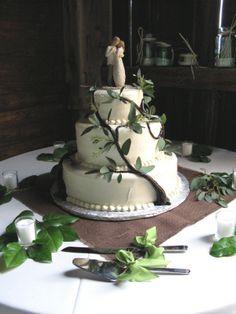 Rustic Tree of Life Cake