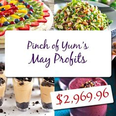 Pinch of Yum Income Report - May 2012