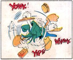 """From """"Donald Duck in Too Many Pets"""" 1943, by Carl Barks."""