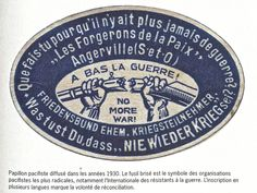pacifisme dans l'entre deux guerres - Hledat Googlem