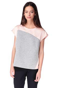 Short sleeve Top - 3361-t1657 - Pink Tara Jarmon on MonShowroom.com