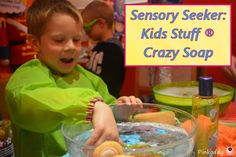 Kids Stuff Crazy Soap is good on so many levels for children with Sensory Processing Disorder. Find out why it is good for children coping with the build up to Christmas and/or as a stocking filler.