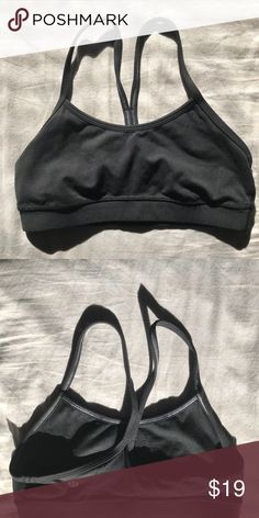 e9cc8e4ee4 LULULEMON BLACK POWER Y BRA SIZE 4 like new Excellent condition. Sorry bra  pads are not included. Size 4 by lululemon Tops Crop Tops. Bethany Argiro