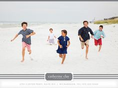 Family beach pictures, Florida, beach clothing ideas, Watercolor pictures, Seaside pictures // Catherine Clay Photography, Dallas Child Photographer