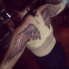 wing tattoo #wingtattoo #wing