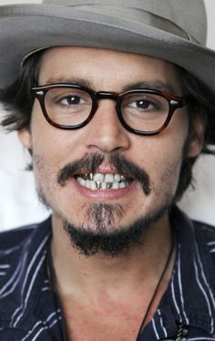 Johnny Depp A pirate smile!