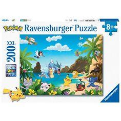Ravensburger puzzel Pokémon - 200 stukjes  Voltooi deze Pokémon-puzzel van Ravensburger! Deze prachtige puzzel heeft 200 stukjes die makkelijk aan elkaar te leggen zijn.  EUR 10.19  Meer informatie