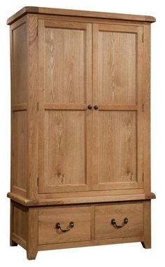 Okeford Double Wardrobe with 2 Drawers