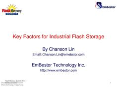 #IndustrialFlashStorageApplications and #MarketRequirements, #FlashStorageApplications #Electronics