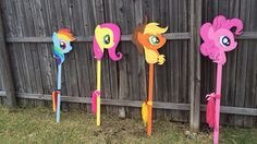 DIY My Little Pony Stick horse                                                                                                                                                                                 More