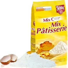 Mix Patisserie - Mix C (koláče a kekse) 5.41€       Charakteristika:  Bezlepková zmes múky prevažne na sladké pečenie