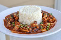 Korean Spicy Stir Fried Octopus - Nakji Bokkeum