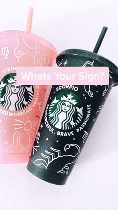 Personalized Starbucks Cup, Custom Starbucks Cup, Starbucks Tumbler, Personalized Cups, Vinyl Craft Projects, Cricut Explore Projects, Diy Tumblers, Custom Tumblers, Starbucks Cup Design