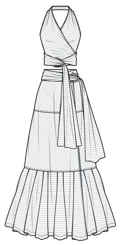 fashion flat sketch template Source by HYDN_STUDIO dress drawingDRESS fashion flat sketch template Source by HYDN_STUDIO dress drawing Pattern of a sarafan with a bodice corsage (pp Dress Design Drawing, Dress Design Sketches, Fashion Design Drawings, Dress Drawing, Fashion Sketches, Drawing Drawing, Fashion Drawing Dresses, Fashion Illustration Dresses, Fashion Dresses