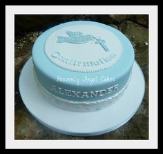 Confirmation Cakes for Boys | Confirmation cake | Flickr - Photo Sharing!