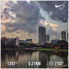 #nikeplus #myrun #running #run #morningrun #river #city #geylang #singapore #instarunner  #lari #laripagi #goodmorning #wanderlust #instatravel