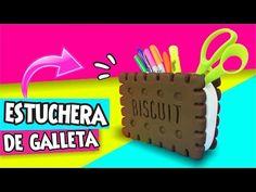 DIY★ESTUCHERA GALLETA GIGANTE Regreso a Clases✔ ★Asi o Mas Facil★ --- ♥Tutoriales Paso a Paso♥ - YouTube
