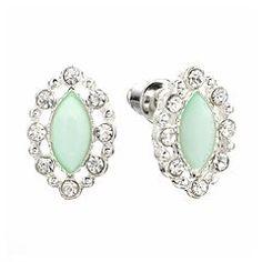 LC Lauren Conrad Marquise Stud Earrings