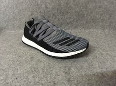 adidas Pure Boost Raw Grey Core Black UK Trainers 2017/Running Shoes 2017