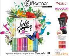 Flormar Campaña 10 2016: Catalogo de Productos Mexico
