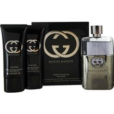 Buy GUCCI GUILTY POUR HOMME by Gucci - A designer fragrance gift set for men (travel edition). 100% Authentic. Free Shipping included.