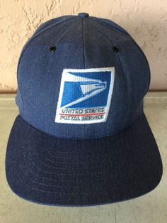 0b9213fdd98 USPS Snapback Baseball Cap Hat Postal Service Worker  fashion  clothing   shoes  accessories