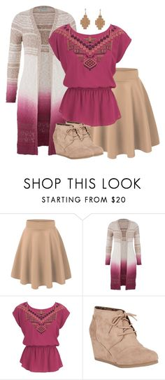 """""""Simple Style: Aztec"""" by mary-grace-see on Polyvore featuring maurices, City Classified and Pink Mascara"""