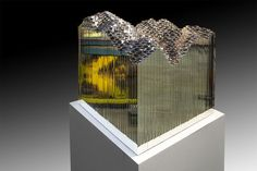 Jonathan Prince | Pixel Block (2013), steel
