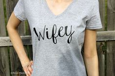Hey, I found this really awesome Etsy listing at https://www.etsy.com/listing/196183635/wifey-shirt-wifey-womens-v-neck-bridal