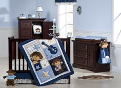 Introducing our new #carters monkey rockstar bedding collection!