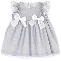 Printed poplin dress | Il Gufo