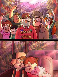 Goodbye Gravity Falls by wernwern on DeviantArt – Cartoon Ideas Gravity Falls Dipper, Anime Gravity Falls, Gravity Falls Fan Art, Gravity Falls Comics, Gravity Falls Journal, Monster Falls, Desenhos Gravity Falls, Gavity Falls, Dipper And Mabel