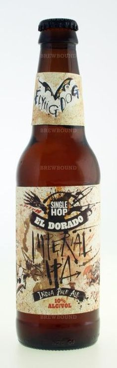 Review : Flying Dog El Dorado Imperial IPA #Beer