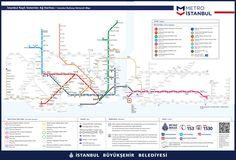 Metro Map - Istanbul 2017