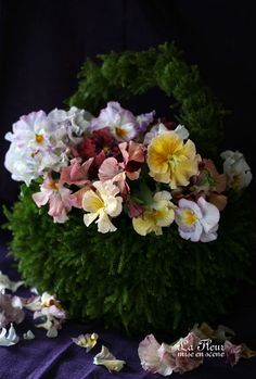 pesee bag bouquet