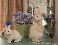 Surrounding Beauty: Decorating with Bunnies