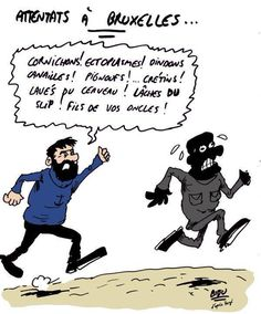 L'hommage des dessinateurs après les attentats de Bruxelles - lesoir.be