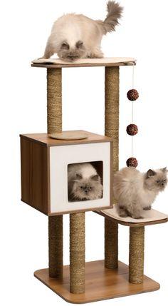 Os presentamos nuestra nueva línea #Vesper! Primera calidad y grandes diseños en una novedad que ofrece muebles robustos, duraderos, muy cómodos para nuestros #gatos gracias a cojines con efecto viscoelástico, felpudos extra suaves, zonas de rascado,... La calidad y el diseño se unen en Vesper! #Rascadores #Muebles #Mascotas #Decoración #Calidad #Diseño #Viscoelástico #Gatos #Hogar #Tendencia