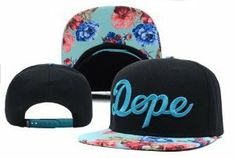 Dope Floral Snapback Hats Classic on Wanelo
