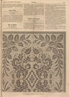 Filet Crochet, Filets, Doilies, Vintage World Maps, Sewing Projects, Crochet Patterns, Cross Stitch, Embroidery, Antiques