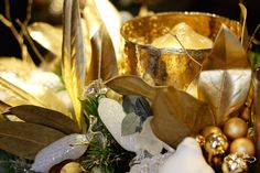 Gold and glamourous for Christmas by Neill Strain